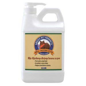 Lososovo olje za pse Grizzly