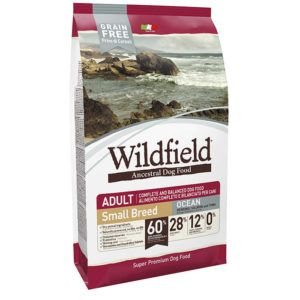 Hrana za pse Wildfield Adult Small Breed OCEAN - slanik, losos in tuna