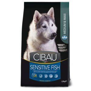 Hrana za pse z ribo Cibau