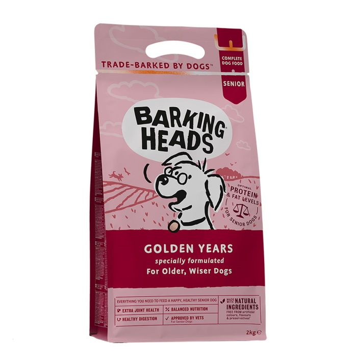 Hrana za starejše pse Barking Heads