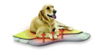 Toplo ležišče za psa: Samogrelno pasje ležišče