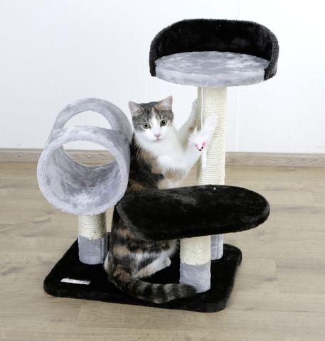 praskalnik za mačke s tunelom