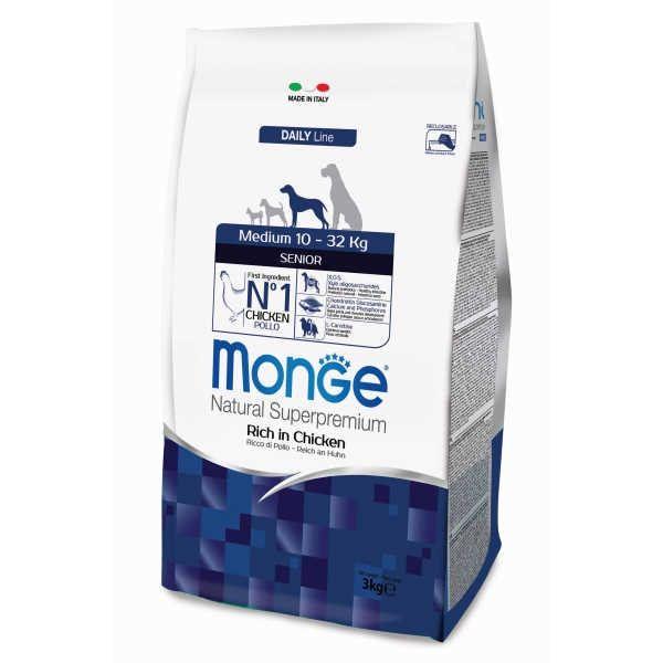 Hrana za starejše pse Monge