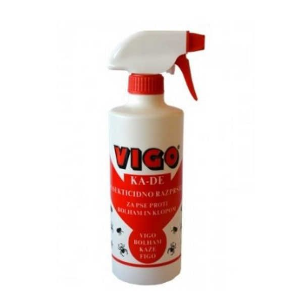 Insekticidni sprej za pse proti bolham in klopom