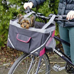 Košara za prevoz psov na kolesu