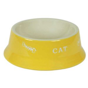 Barvna keramična posoda za mačke