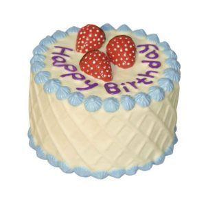 Modra torta za pasji rojstni dan