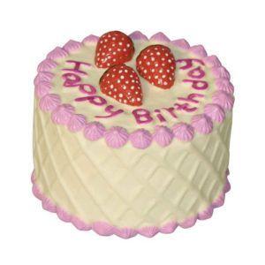 Roza torta za pasji rojstni dan