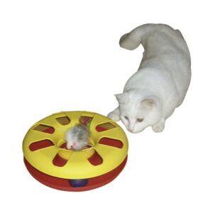 Dirkalno kolo z žogico in miško