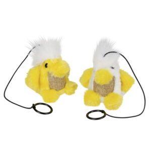 Mačja igrača na elastiki