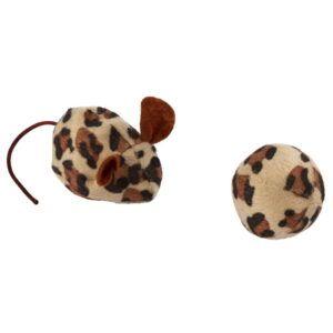 Miška in žogica za mačke