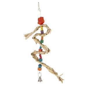 Naravna igrača za ptice z zvončkom