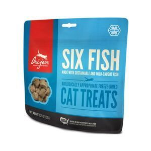 Priboljšek za mačke z ribo
