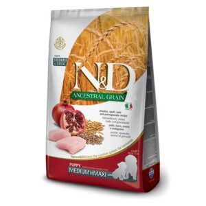 N&D Ancestral Grain Puppy Medium & Maxi