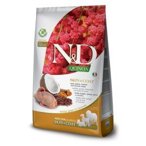 N&D Quinoa Skin&Coat Quail