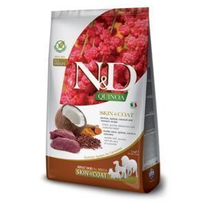 N&D Quinoa Skin&Coat Venison