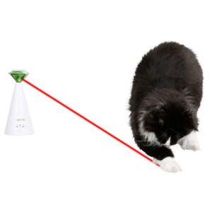 Vrtljivi laser za mačke