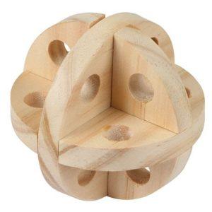 lesena žogica za glodanje fi 7cm