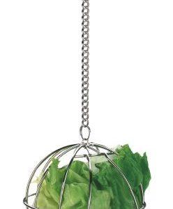 Kovinska žogica - držalo za zelenjavo ali seno
