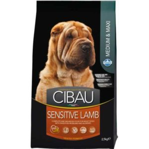 cibau sensitive lamb medium maksi