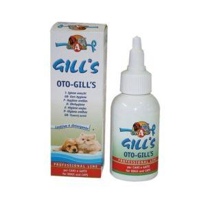 Tekočina za higieno ušes za pse in mačke Oto-Gill's