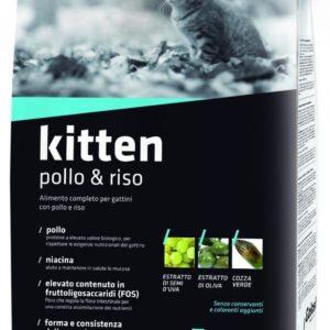 Hrana za mačke Golosi premium Kitten Pollo & Riso 400g