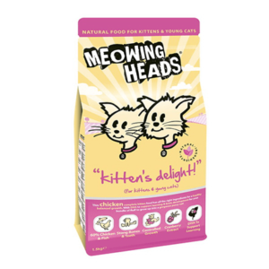 Meowing Heads Kitten's Delight - piščanec 1,5kg
